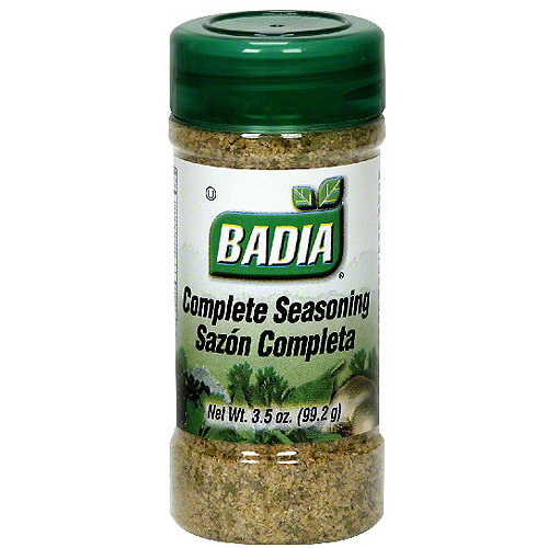 Badia Complete Seasoning 3 5 Oz Pack Of 12 Walmart Com