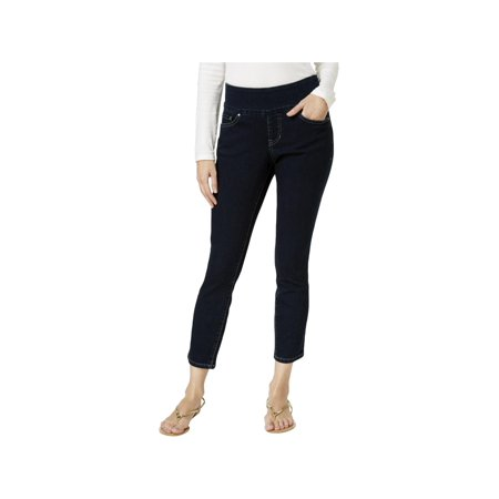 Jag Jeans Womens Amelia High Rise Pull On Ankle Jeans