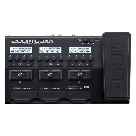 Zoom G3XN Multi Effects Processor with Expression Pedal Simulator for (Zoom Pedal Manual)