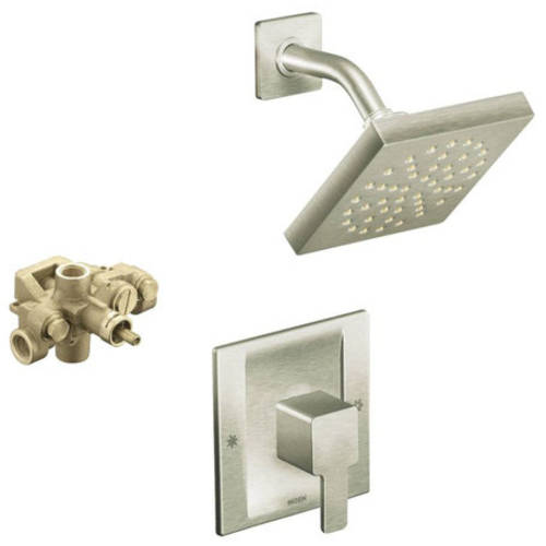 Moen Ks90-m-ts3715bn 90 Degree Moentrol Rain Shower Faucet, Available in Various Colors