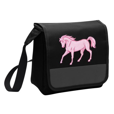 Horse Lunch Bag Stylish Horse Theme Lunchbox Cooler for School or Office - Men or - Horse Themed School Supplies