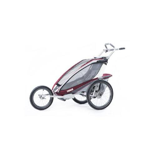 Thule Chariot CX1 + Stroll Child Carrier (Burgundy)