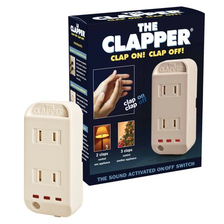 The Clapper! Wireless Sound Activated On/Off Switch, Clap Detection