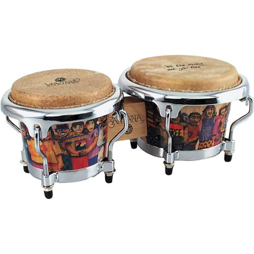 Latin Percussion LPM200AW Santana Mini Tunable Bongo