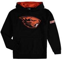 Oregon State Beavers Youth Big Logo Pullover Hoodie - Black