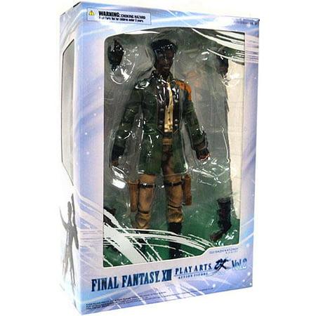 Final Fantasy XIII Play Arts Kai Series 2 Sazh Action Figure Arts Series 2 Figures