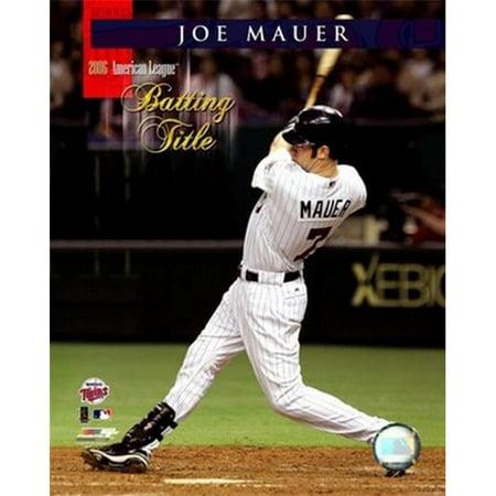 Photofile PFSAAIH00801 Joe Mauer - 2006 AL batte Titre Photo Sports - 8 x 10 - image 1 de 1