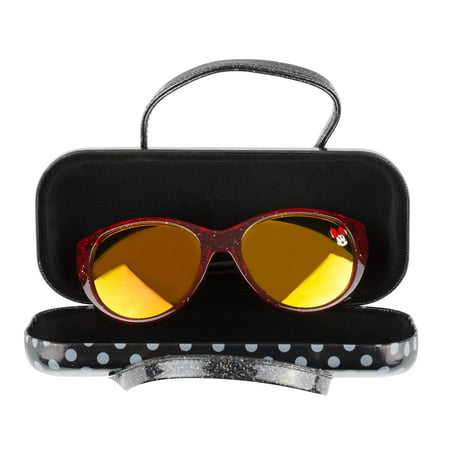 Minnie Mouse Kid's Sunglasses and Case (Minnie Rose Sunglasses)