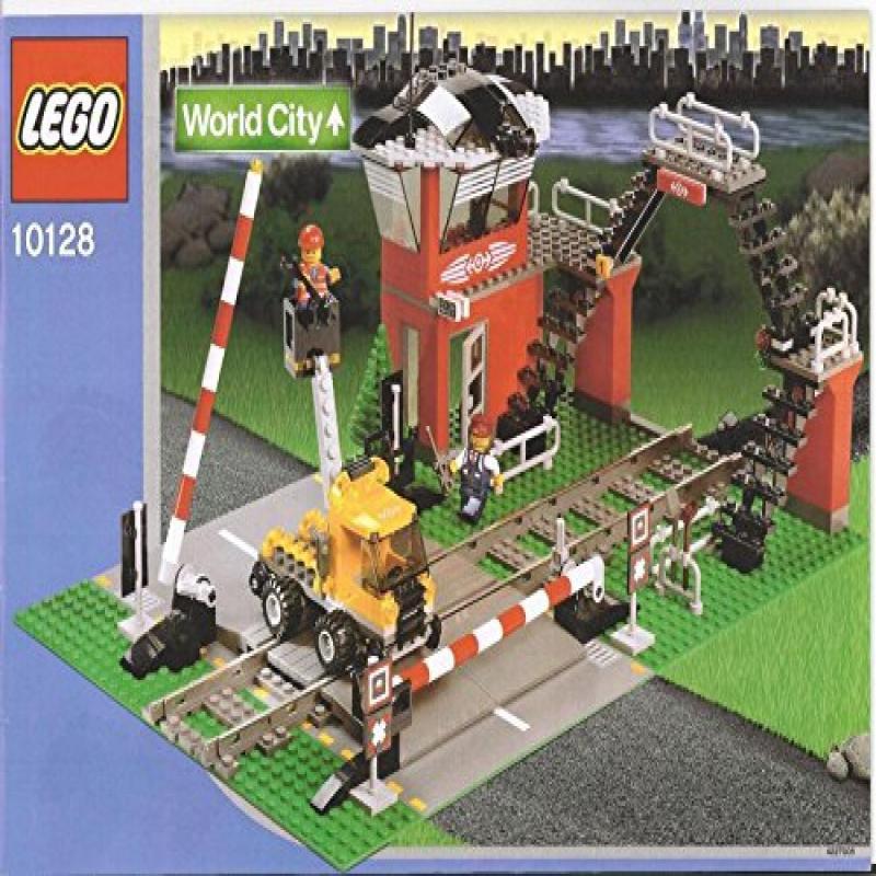 Lego City Train Level Crossing