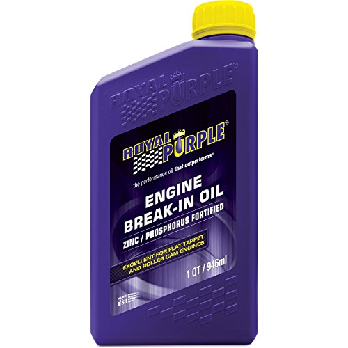 Royal Purple 11487 High Performance Engine Break-in Oil - 1 qt.