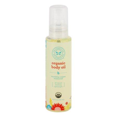 The Honest Co  Organic Body Oil  4 0 Fl Oz