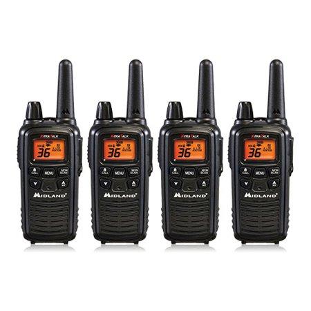 Midland Lxt600vp3 Xtra Talk Two Way Radio W  Weather Scan  4 Pack