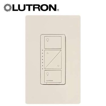 Lutron Caseta Wireless In-Wall Dimmer, 600/150-Watt, Single Pole, Works with Amazon Alexa