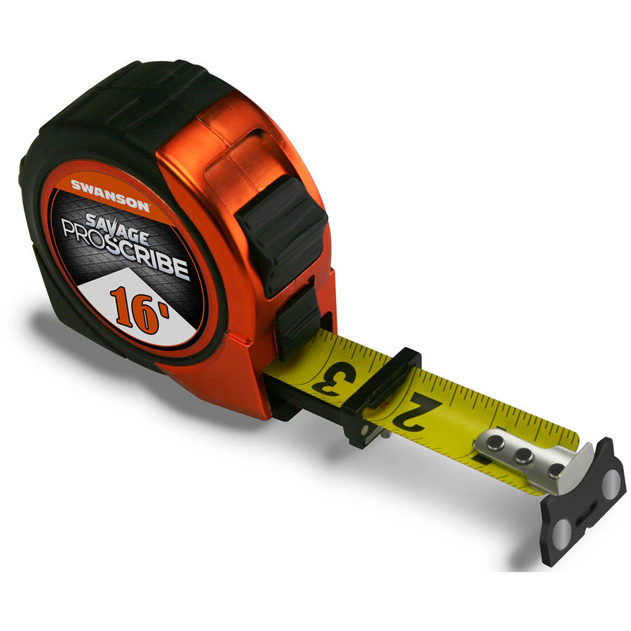 Savage SVPS16M1 16' Magnetic ProScribe Tape Measure