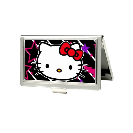 Hello kitty animated character 8s back classic logo business card hello kitty animated character 8s back classic logo business card holder reheart Choice Image