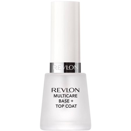 Metallic Base Coat (Revlon multicare base + top coat, 0.5 fl)