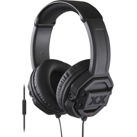 JVC Xtreme Xplosives XX HA-MR60X Headset - Stereo - Black - Wired - Gold Plated - Over-the-head - Binaural - (Jvc Xtreme Xplosives Xx Ha Mr60x Headset)