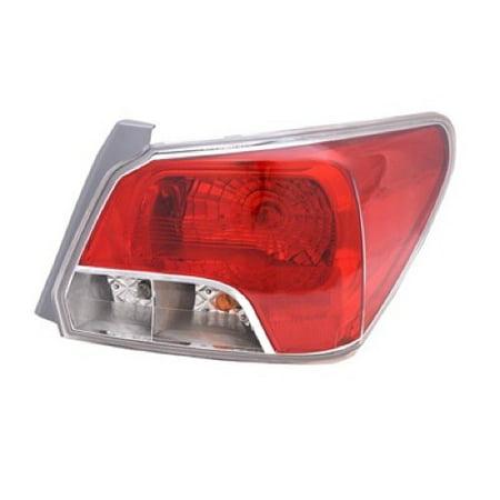 Go Parts 2017 Subaru Impreza Rear Tail Light Lamp Embly Housing