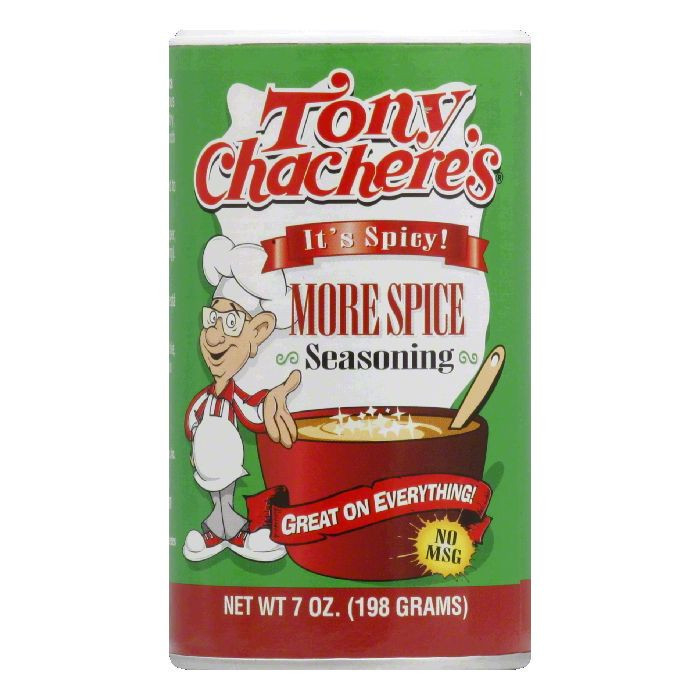 Tony Chachere's More Spice Creole Seasoning 7oz.