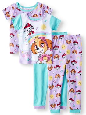 3fc7abe242 Product Image Toddler Girls  Cotton Tight Fit Pajamas