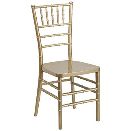 A Line Furniture Plaza Resin Ball Room Gold Chiavari Chairs Plaza Resin Ball Room Gold Chairs Set of 4 Furniture Room: Kitchen Dining Room Hall Living Room PatioFurniture Room: Kitchen, Dining Room, Hall, Living Room, PatioChair Type: Desk Chairs, Dining Chairs, Side Chairs