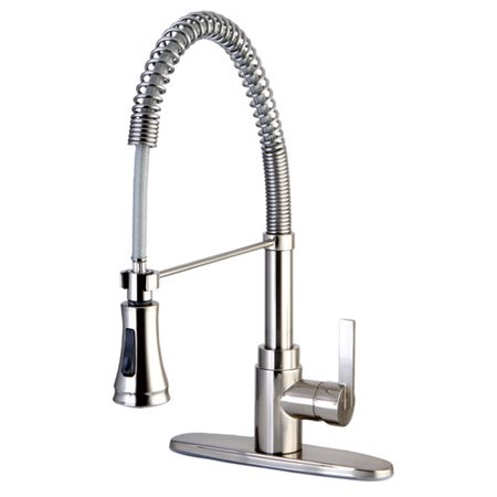 Continental Claremont Pull Down Single Handle Kitchen Faucet
