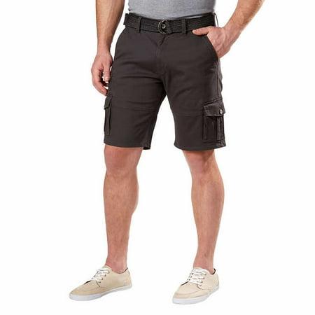 Tan Fight Shorts (Weatherproof Vintage Mens Comfort Stretch Utility Cargo Shorts Adjustable)