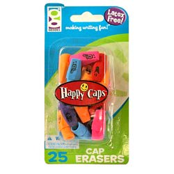 Happy Caps Erasers](Brain Eraser)