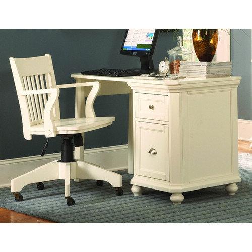 Woodbridge Home Designs 8891 Series 2 Drawer Cabinet Computer Desk