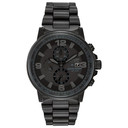 Discount Citizen Watch (Citizen Men's Eco-Drive Night Hawk Chronograph Watch)