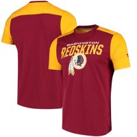 Product Image Washington Redskins NFL Pro Line by Fanatics Branded Iconic  Color Blocked T-Shirt - Burgundy a203cabe0