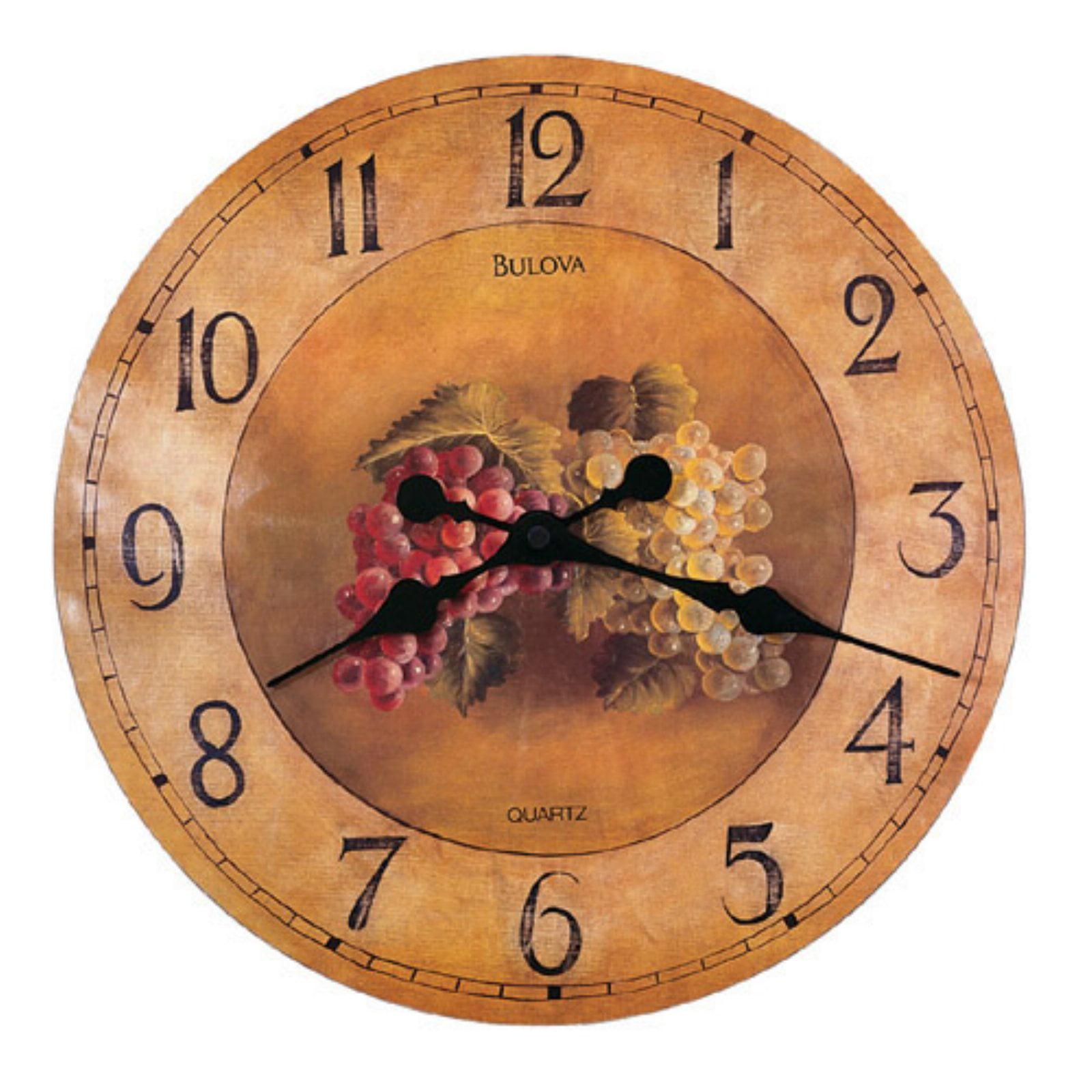 Whittingham 18 Inch Wall Clock By Bulova Walmart Com Walmart Com