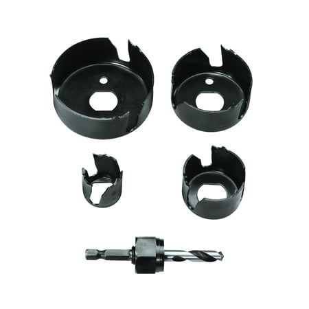 Vermont American 18398 5-Piece Carbon Steel Hole Saw