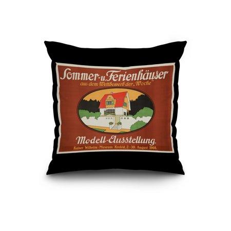 Sommer u Ferienhauser Vintage Poster artist Bilchmeier Germany c 1908
