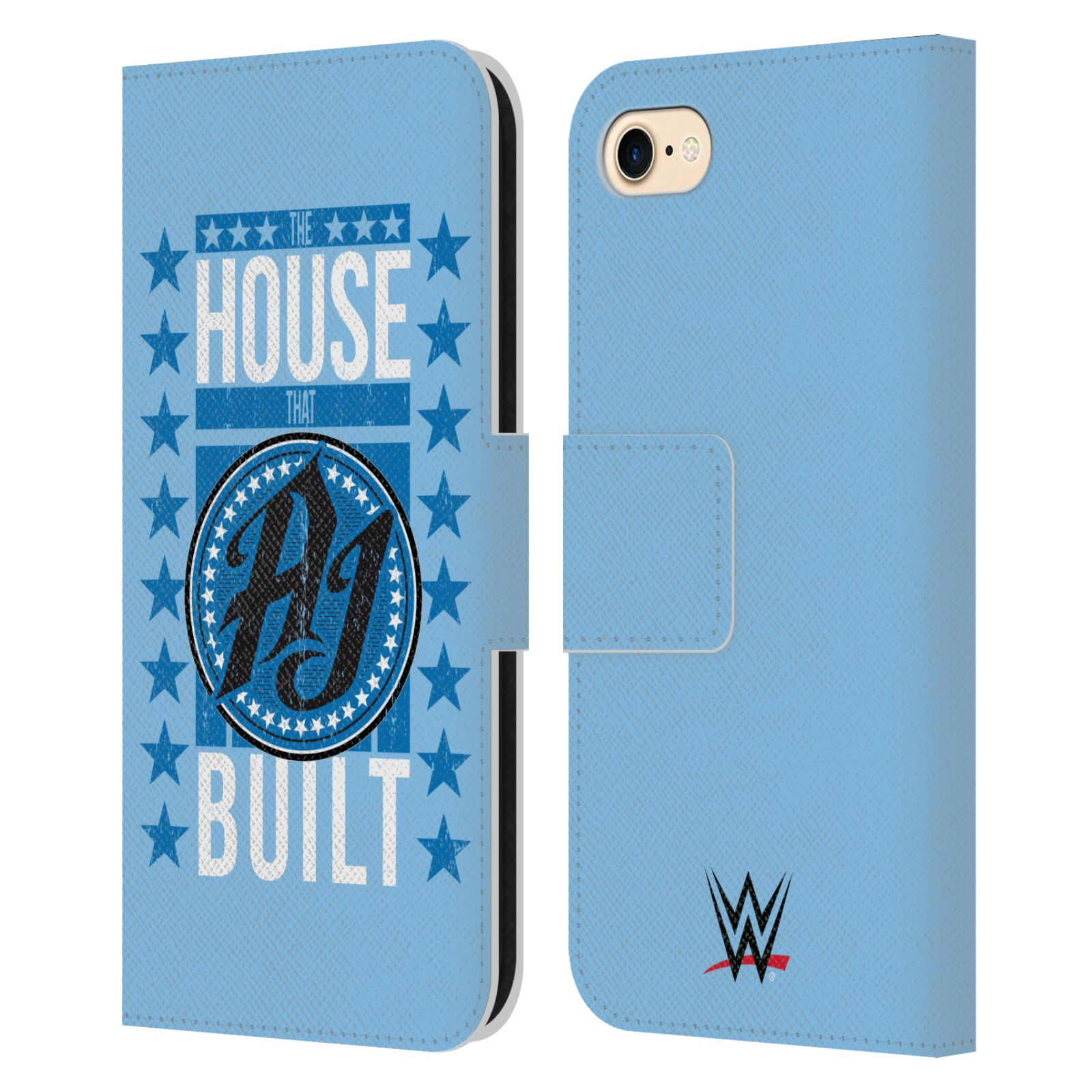 Head Case Designs Officially Licensed WWE 2017/18 Superstars 3 The House That AJ Styles Built Leather Book Wallet Case Cover Compatible with Apple ...