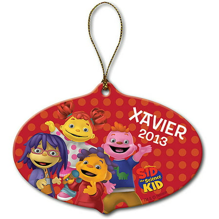 Personalized Sid the Science Kid Sing-Along Christmas Ornament ()