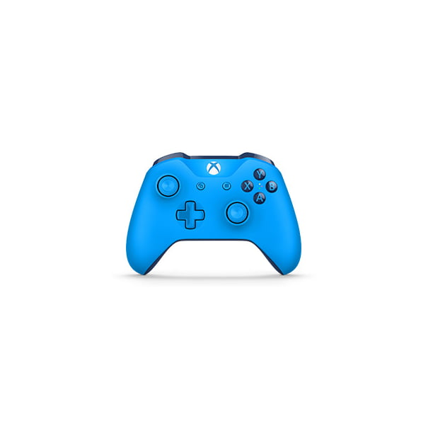 Microsoft Xbox One Bluetooth Wireless Controller Blue Wl3 00018 Walmart Com Walmart Com