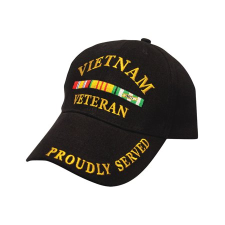 Black Military Veteran Proudly Served In Vietnam War Baseball Style Hat