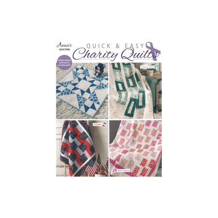 Annie's Quick & Easy Charity Quilts Bk