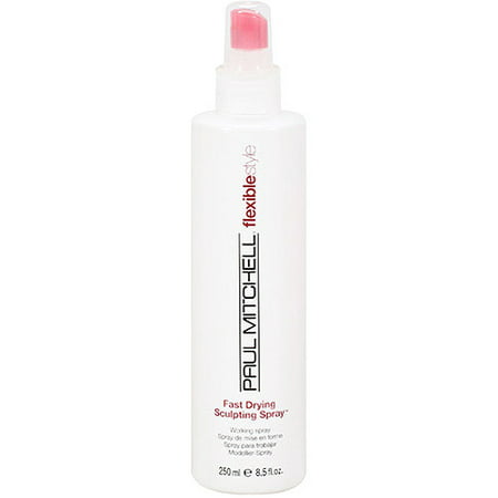 Paul Mitchell Flexiblestyle Fast Drying Sculpting Hair Spray, 8.5 Fl
