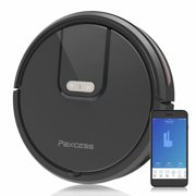 PaxcessWIFI Connected Robotic Vacuum Cleaner 1800PA Vaccum Cleaner with 900ml Dustbin