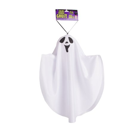 Fun World Hanging Ghost Happy Smile Hanging Decoration, 20
