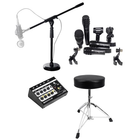Audio Technica Church Band Drum Microphone Kit w/(4)