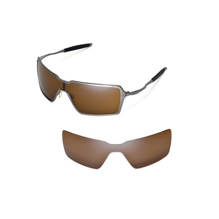 e099108af3 Walleva Brown Polarized Replacement Lenses for Oakley Probation Sunglasses