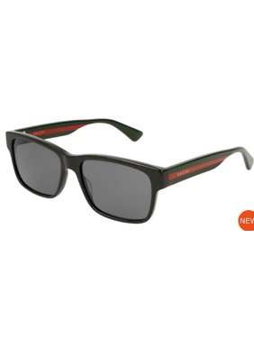 c524df73408 Product Image Black Red Stripe Ladies Sunglasses - GG0340S-006. Gucci