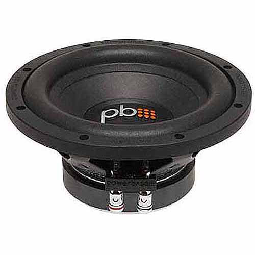 "PowerBass S84 8"" Subwoofer, Black"