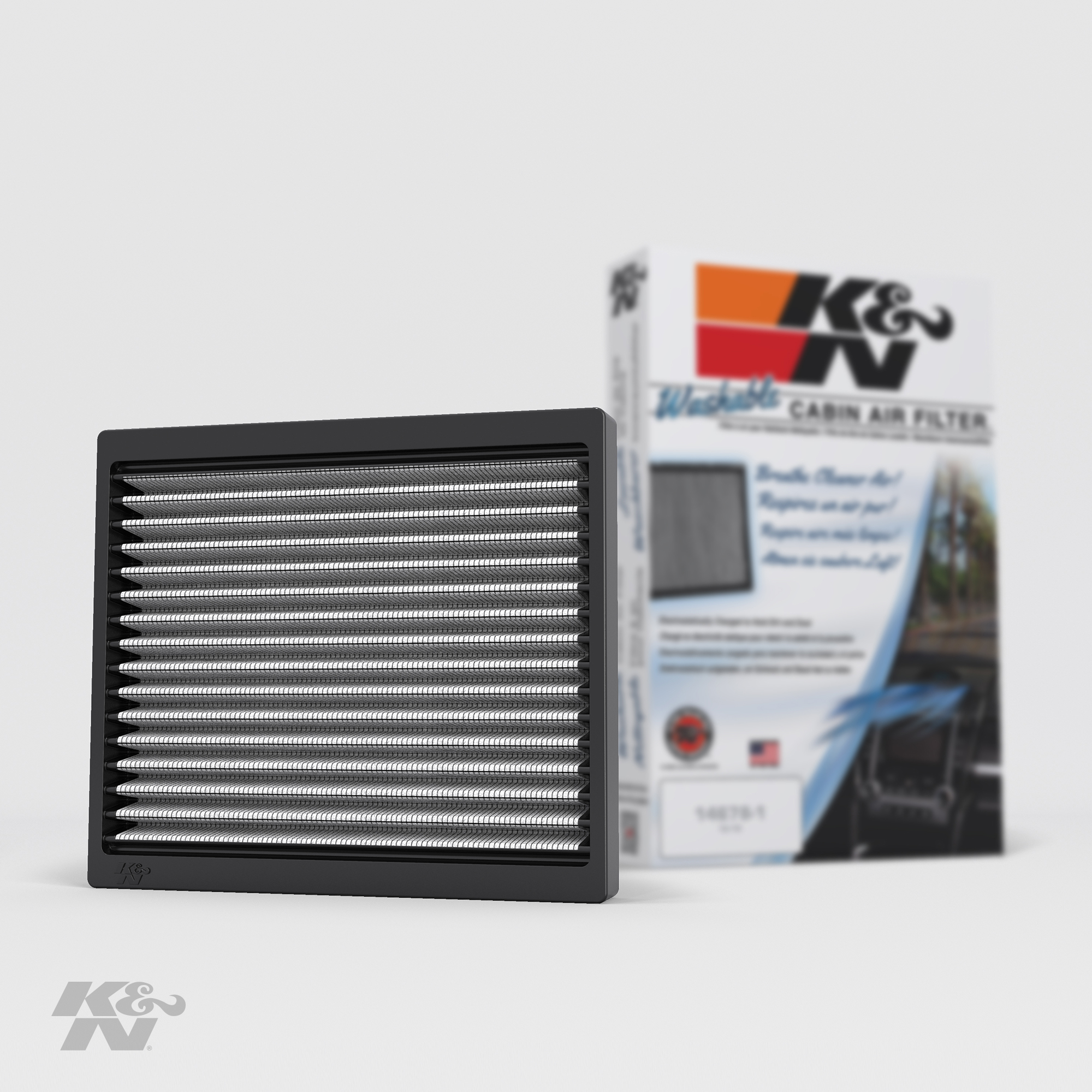 K/&N VF2040 Cabin Air Filter