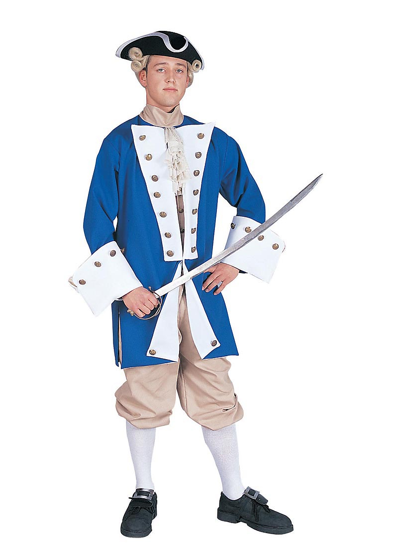 Adult colonial costume new