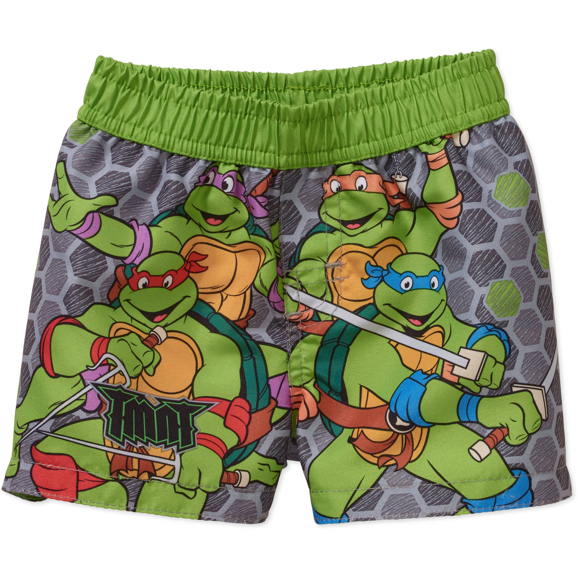 Teenage Mutant Ninja Turtles Newborn Baby Boy Swim Trunks