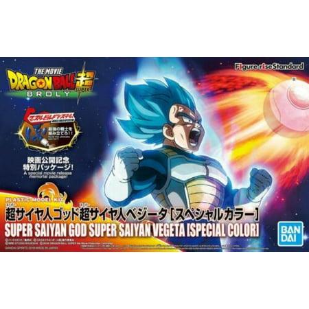 Bandai Figure-Rise Dragon Ball Super Saiyan God Super Saiyan Vegeta Special Color Ver. Model Kit - Blue Dragon Special Accessories